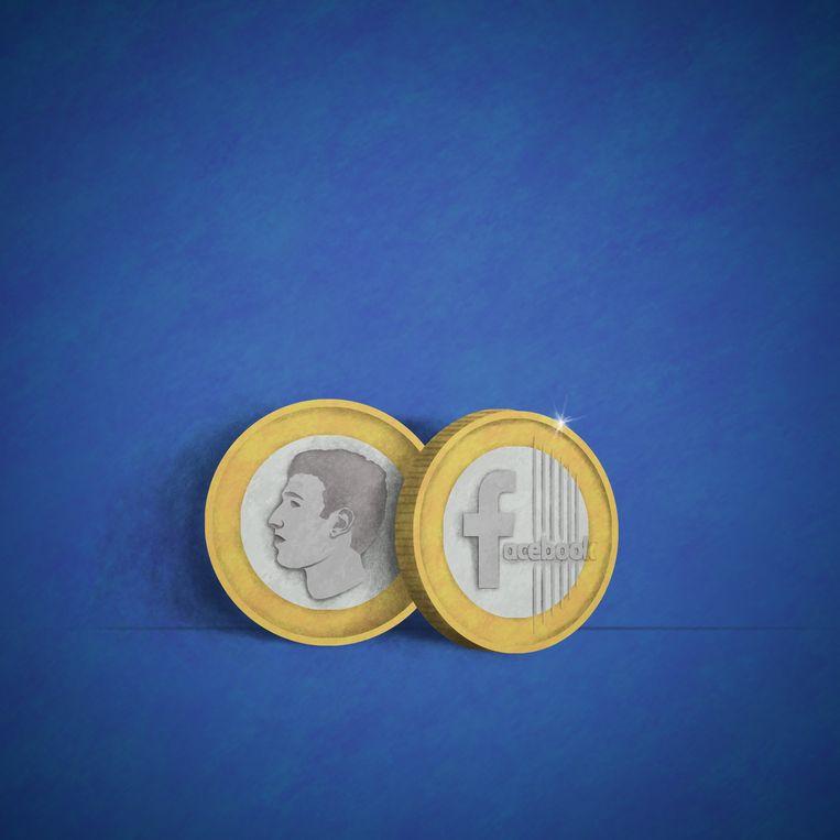 Facebook heeft plannen voor een eigen munt, de Libra. Beeld Matteo Bal