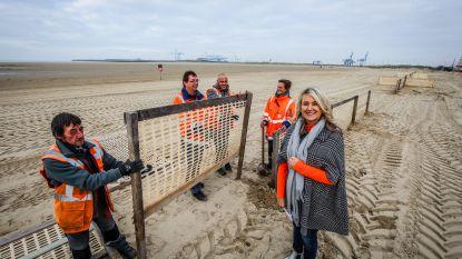 Strand van Zeebrugge is bijna klaar voor winterstop (én opnames Beau Séjour 2)