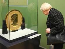 Dieven enorme gouden munt nog spoorloos