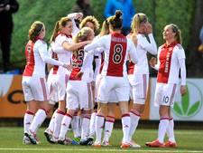 Knappe zege voetbalsters Ajax in Champions League