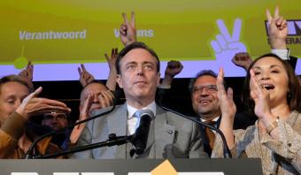 Regerende Vlaams-nationalistische N-VA krijgt eerste klapje