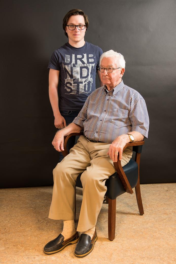Wim Michiels en Summa-student Coen Peulen