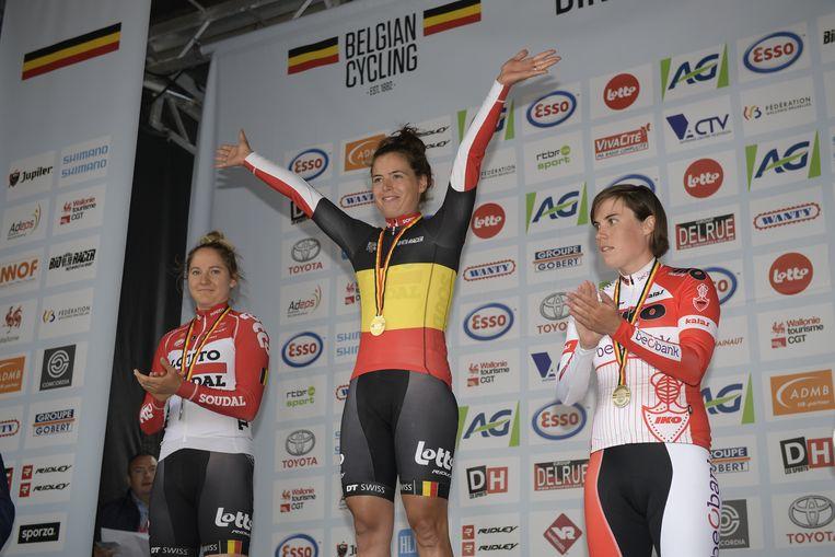 Annelies Dom won het BK vorig jaar.