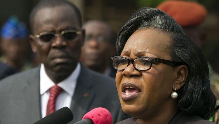 President Catherine Samba-Panza Beeld reuters