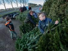 Wie helpt met de kerstbomen in Altena?