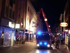 Brandweer haalt man uit brandende woning in binnenstad Nijmegen