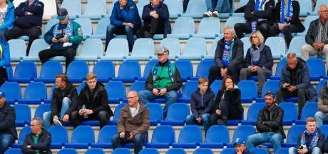 PEC Zwolle teleurgesteld door besluit kabinet om geen fans meer toe te laten