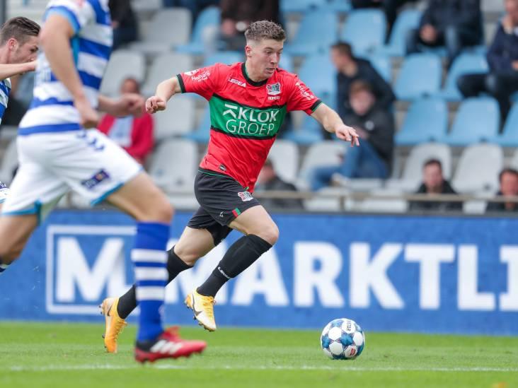Willem II huurt aanvaller van NEC
