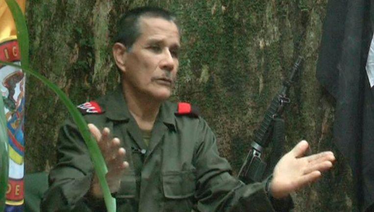 """Nicolas Rodriguez, ook gekend als """"Gabino"""", is de huidige leider van ELN."""