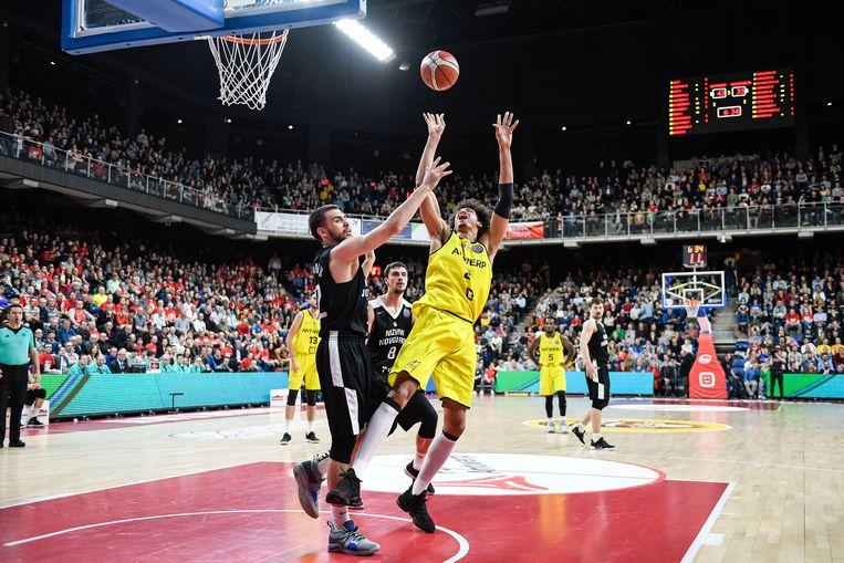 Met de overwinning deze week tegen Nizhny Novgorod schreven de Telenet Giants Antwerp basketbalgeschiedenis.
