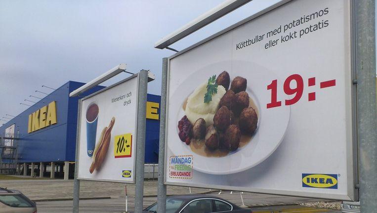 Een filiaal van Ikea in het Zweedse Malmö Beeld epa