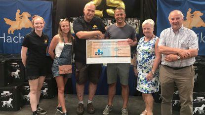 Benefiet Egbert Lachaert levert 3.000 euro voor goeie doelen op