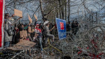 Wanhoop aan Griekse grens