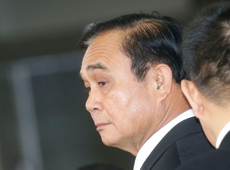 De verkiezingen moeten gehoorzamen aan een 'raamwerk' van regels, heeft junta-leider generaal Prayuth Chan-o-Cha laten weten. Beeld EPA