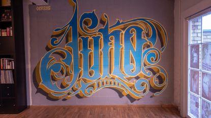 Fotograaf laat street artist los op studiomuur en dit is het resultaat