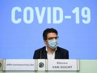 """Steven Van Gucht: """"FFP2-masker niet nodig om te beschermen tegen nieuwe varianten, afstand houden belangrijker"""""""