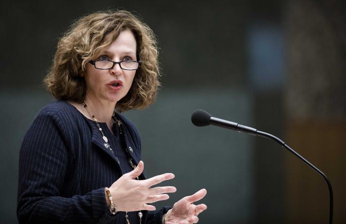 Minister Edith Schippers van VWS.
