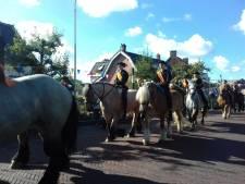Weer paarden op hol tijdens Burghse Dag