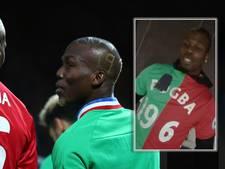 Pogba kiest geen partij bij broederstrijd op Old Trafford