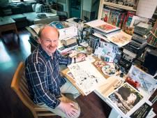 Goese tekenaar Danker Jan Oreel maakt strip over geschiedenis Gelderland
