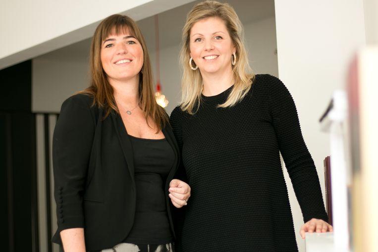Doreen D'hondt en Sarah Bernaers van Tweedraads Advocaten.