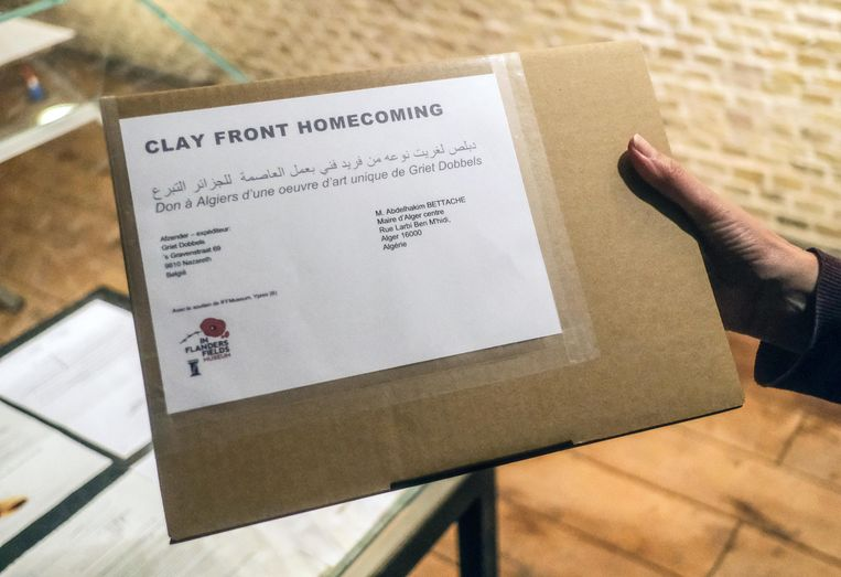 Met Clay Front Homecoming gaat symbolisch een vermiste soldaat terug naar de stad of gemeente waar hij vandaan komt.