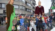 Hugo en Eglina trekken kleurrijke kinderstoet op gang