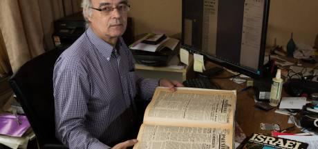 Richard heeft genoeg handtekeningen voor herdenkingsmonument in Tel Aviv; Israël werkt nog niet mee