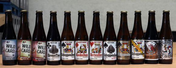 De bieren van brouwerij Het Nest.