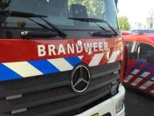 Brand in composthoop bij afvalbrengstation in Bergschenhoek
