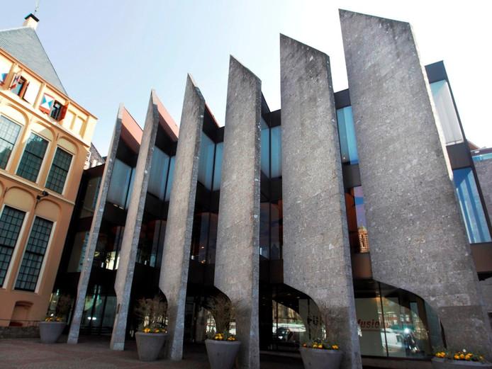Het gemeentehuis van Zwolle