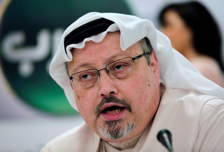 De Saudische journalist Jamal Khashoggi werd op 2 oktober vermoord in het Saudische consulaat in Istanbul.