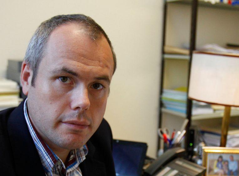 Tanguy Veys van het Vlaams Belang. Beeld ap