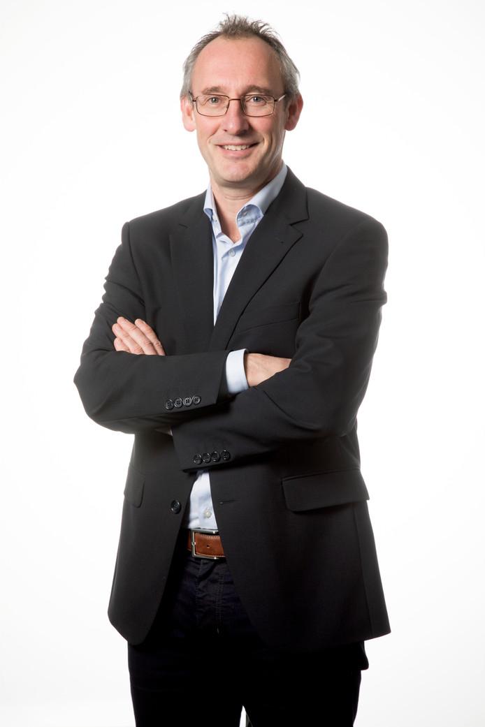 Hoofdredacteur Lucas van Houtert.