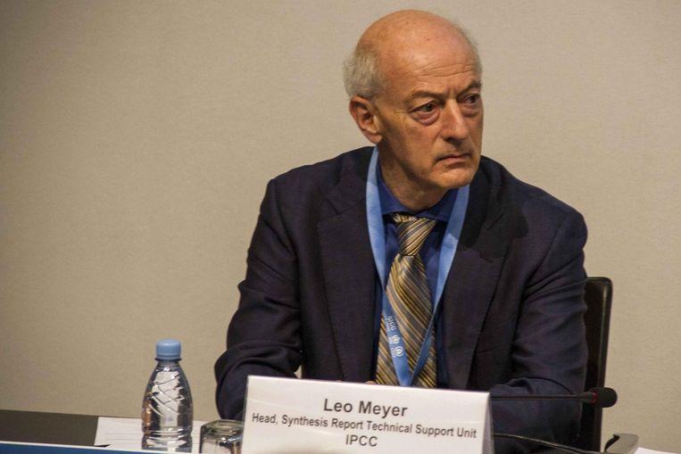Leo Meyer: oud-onderzoeker bij het IPCC en het Planbureau voor de Leefomgeving, directeur ClimateContact-Consultancy Beeld getty
