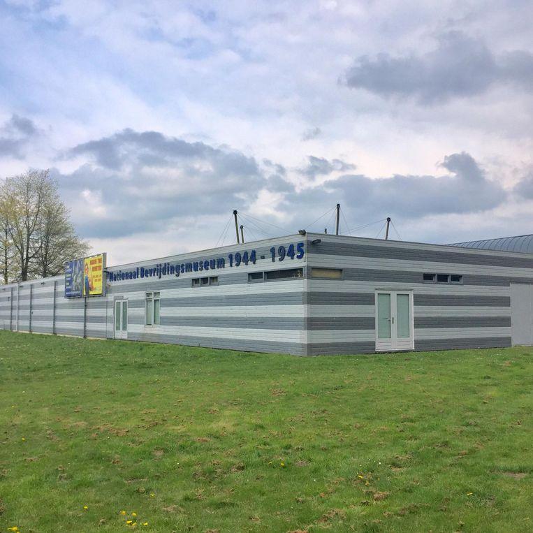 Het Nationaal Bevrijdingsmuseum in de Groesbeekse heuvels. Beeld