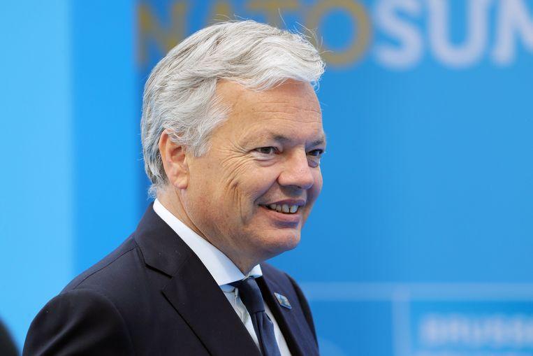 Buitenlandminister Didier Reynders.