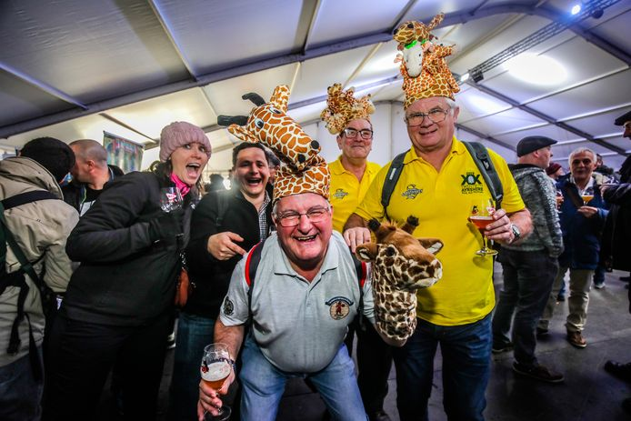 Dergelijke sfeervolle taferelen op het Bierfestival zien we niet in 2021.