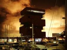 Affakkeling in Antwerpse haven tot vér buiten de stad te zien