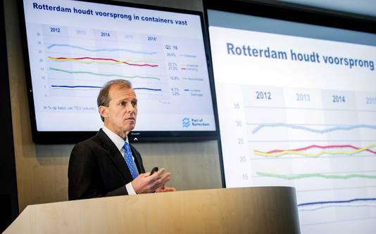 Allard Castelein geeft een toelichting op de jaarcijfers.