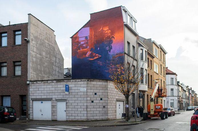 Walls of Boho in de Kortrijkstraat 54 Borgerhout.