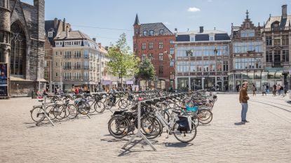 Extra fietsrekken in de stad blijven nog de hele zomer staan, daarna evaluatie