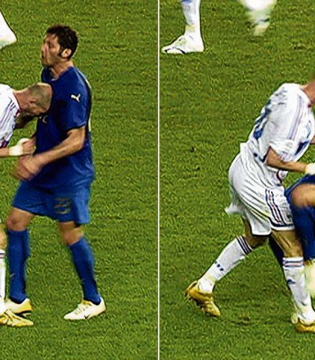 Precies 14 jaar geleden: hoe een kopstoot de carrière van Zidane tien minuten eerder beëindigde