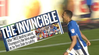 Twee keer kanker overwonnen en het beslissende doelpunt voor de redding gemaakt: Engelse voetballer schrijft zijn eigen sprookje
