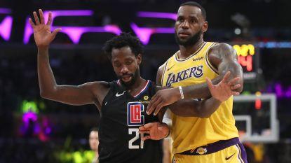 Clippers verslaan Lakers in derby, leider Milwaukee lijdt pijnlijke nederlaag