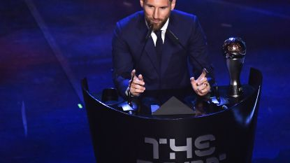 Messi opnieuw beste voetballer ter wereld...