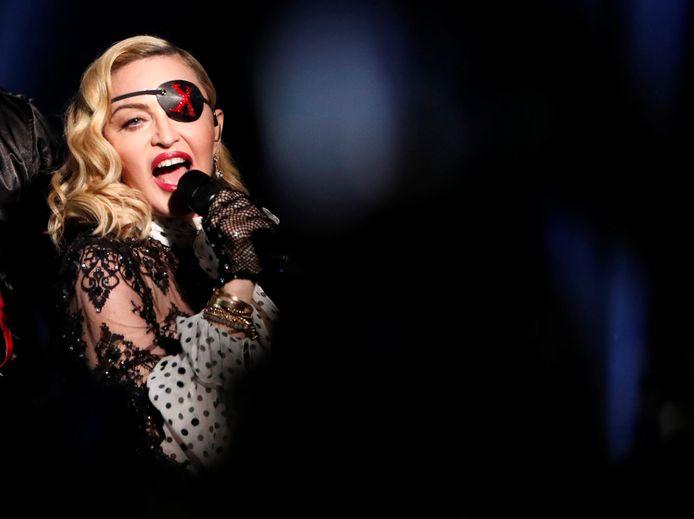 Ook Madonna bleef niet gepaard.