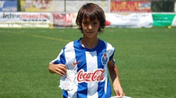 João Felix als jeugdspeler van FC Porto.