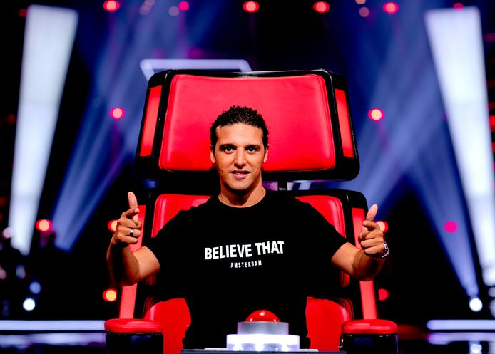 Ali B als coach van The Voice of Holland