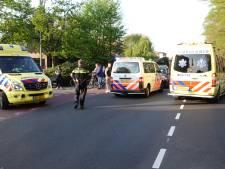 Gewonde bij botsing tussen scooterrijder en fietsster in Barneveld